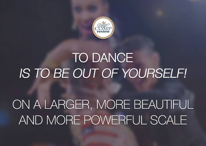 Do It Yourself 10 Quotes Dancers Live By - Dance Comp Review