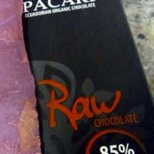 Pacari Raw 85%