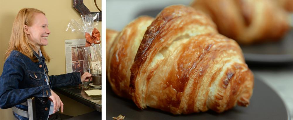 Kathleen & Croissant