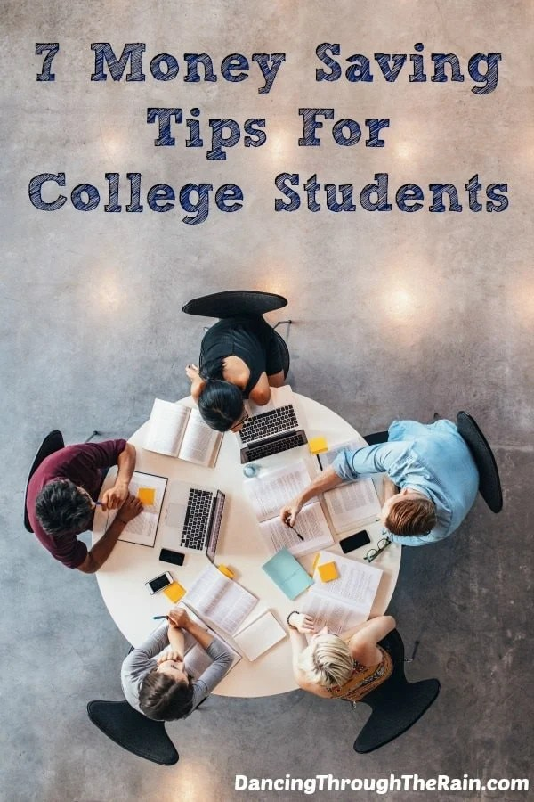 7 Money Saving Tips For College Students