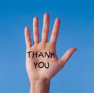 hand of gratitude