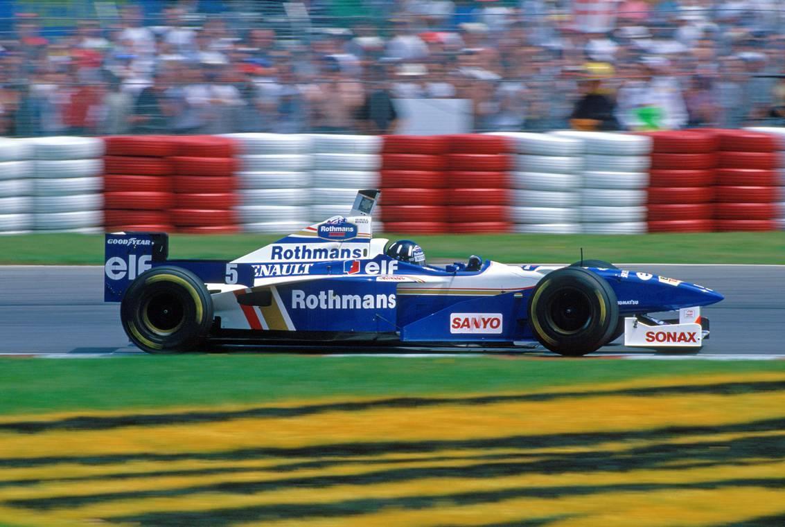 Formula 1 One Race Car Wallpaper Bright Classic F1 Ranting And Racing