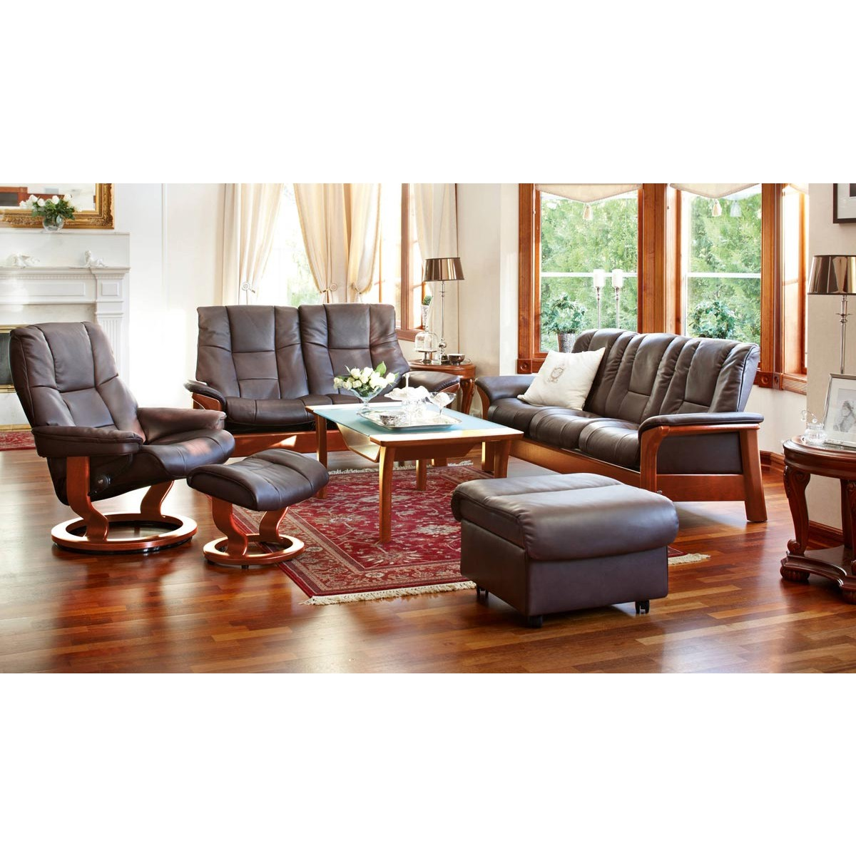 Ekornes Stressless Buckingham Sofa Buckingham Sofa Stressless Buckingham 3 Seat Low Back Sofa