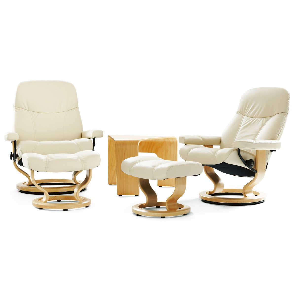 Ekornes Consul Large Stressless Consul Large Recliner And Ottoman From 1 895 00