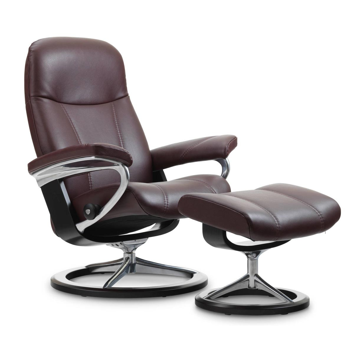 Stresless Stressless Consul Signature Recliner & Ottoman From $1,695