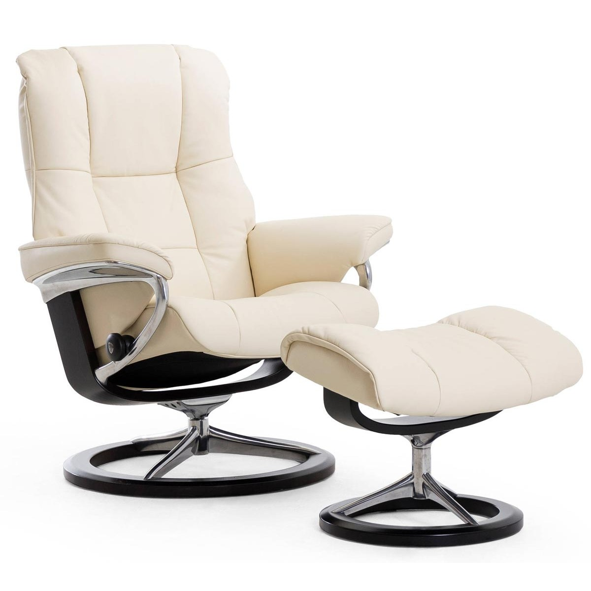 Stressless Recliners With Ottoman Stressless Mayfair Signature Recliner And Ottoman From