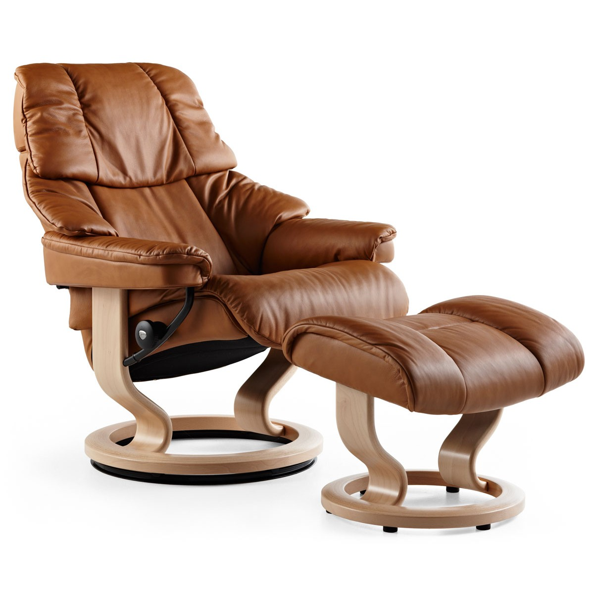 Stresless Stressless Reno Large Recliner Ottoman