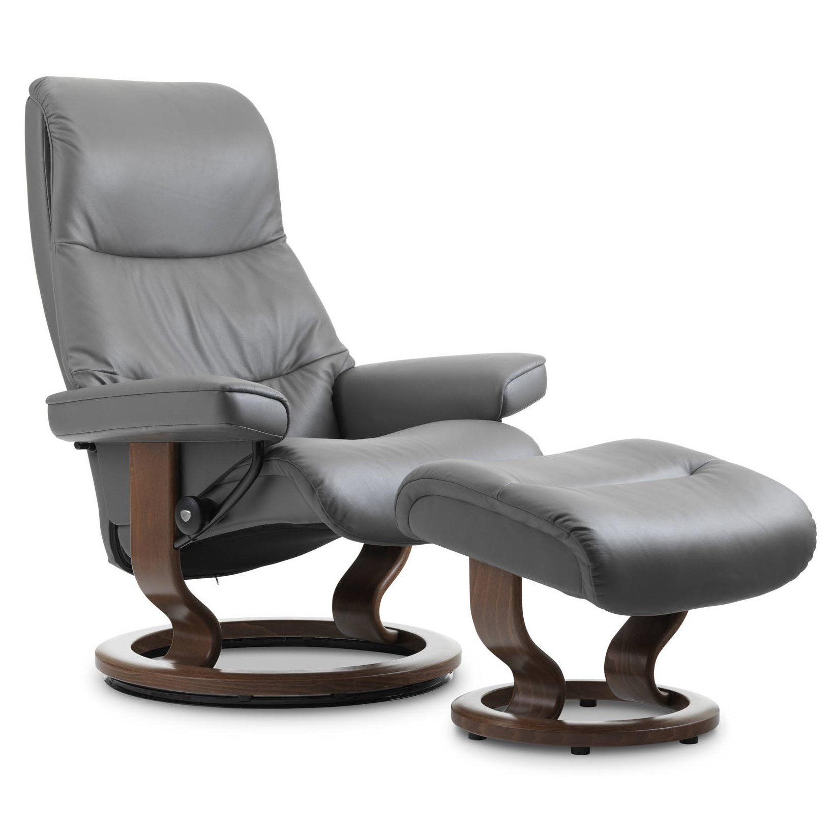 Stressless Wing Classic Legcomfort Stressless View Classic Recliner And Ottoman From 3 195 00