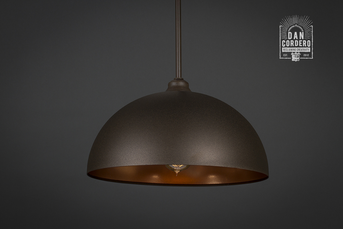 Light Pendants Dome Pendant Light Fixture Bronze And Gold Pendant Light