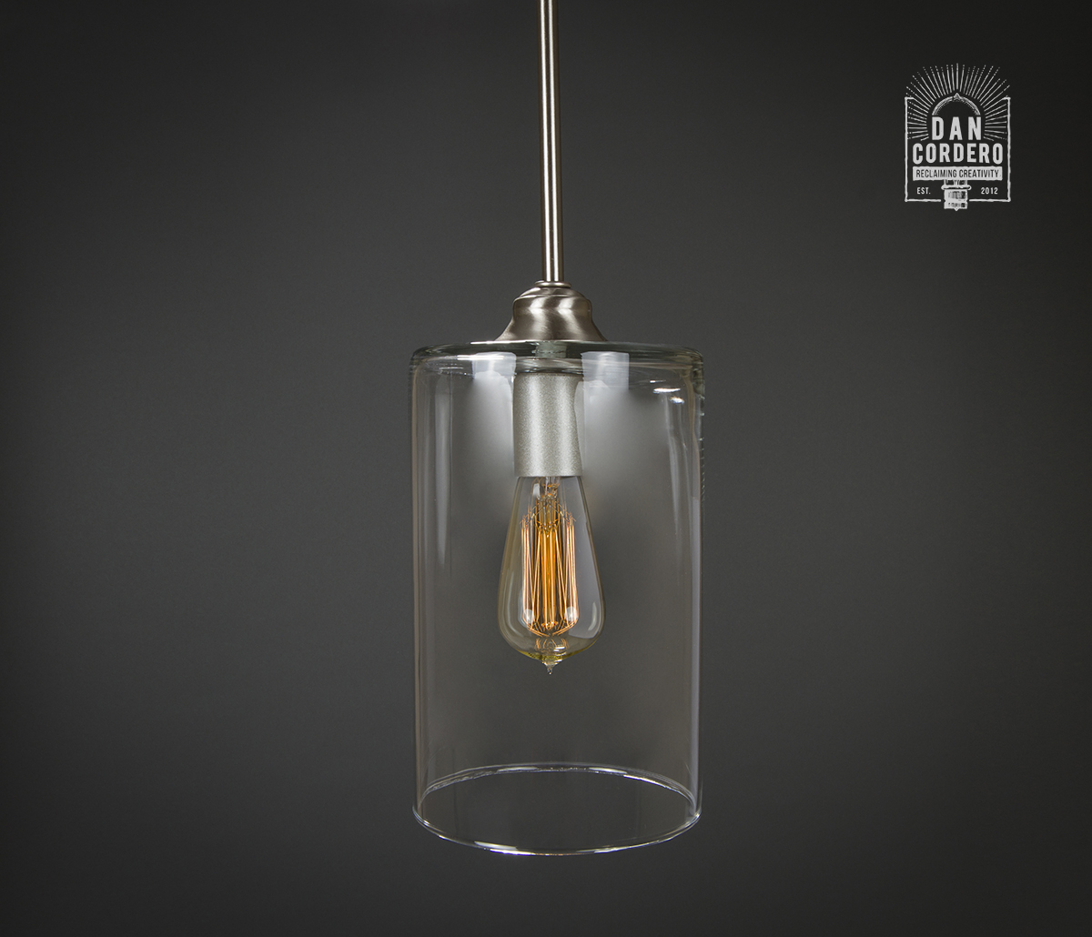 Pendant Lighting Brushed Nickel Pendant Light Fixture Edison Bulb Brushed Nickel