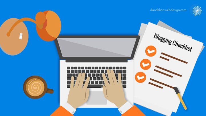 WordPress Blogging Checklist - Be a better Blogger - equipment checklist