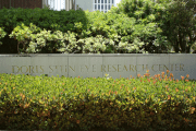 Exterior Sign at Doris Stein Eye Research Center UCLA