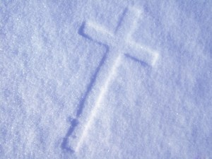 cross snow
