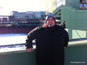 Me on the green monster.