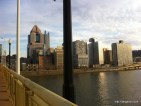 Skyline in Pittsburgh, PA.