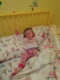First night in big girl bed!