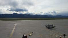 Beautiful view at the Missoula, MT airport before going home.