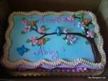 Abby's 2nd Birthday, Cake