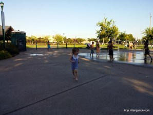 Water fun at the park