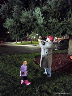 Christmas Tree Lighting in Salem, Oregon