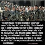 "What does it really mean to ""support the troops""?"