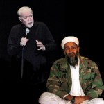 "The obvious ideas of a comedian and the ""genius"" of Osama bin Laden"