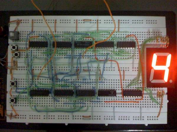 7400 competition entry 2 bits divider/multiplier « Dangerous Prototypes