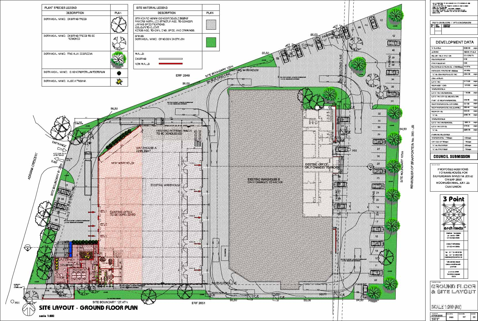 Warehouse Website Eastgate Warehouse Floor Plan Danie Joubert