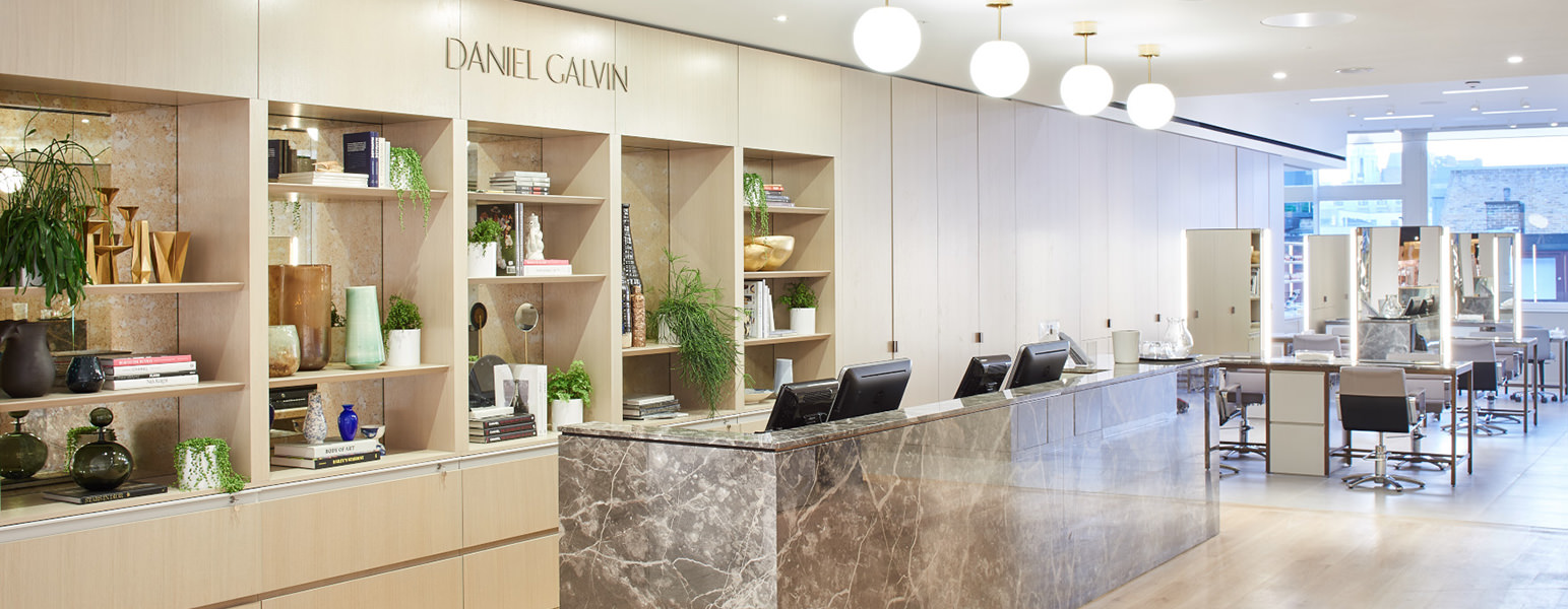 Salon Selfridges Daniel Galvin Best Hairdressing Colour Salon London
