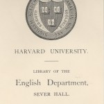 Harvard English Department