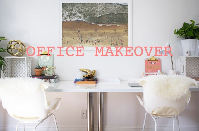 Daniella Monet's Office Space Makeover