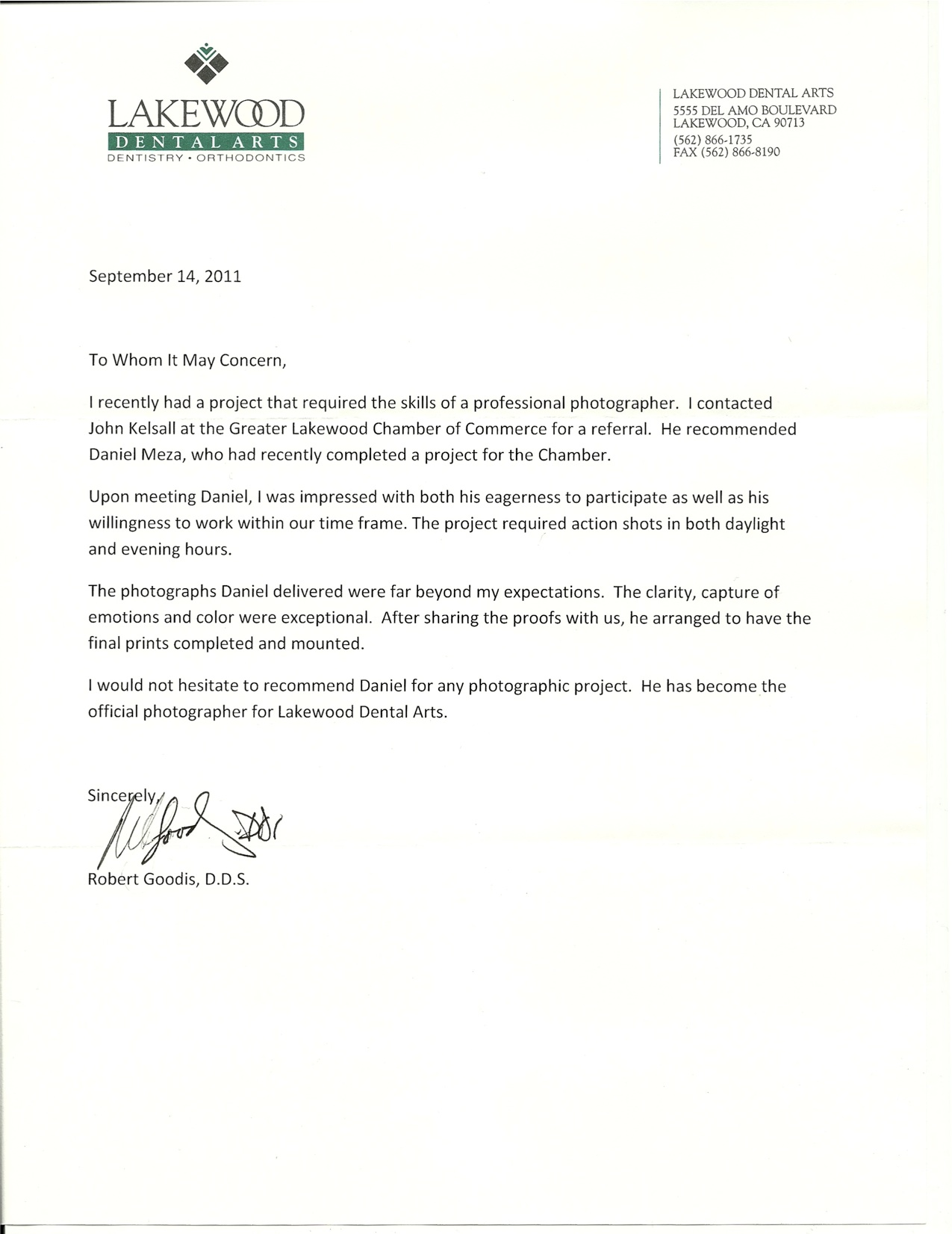 Recommendation Letter For Student Of The Month | Resume Maker ...