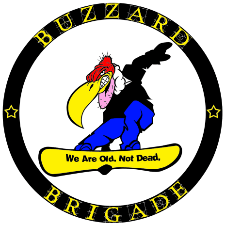 Buzzard Brigade Transparent Logo White Background