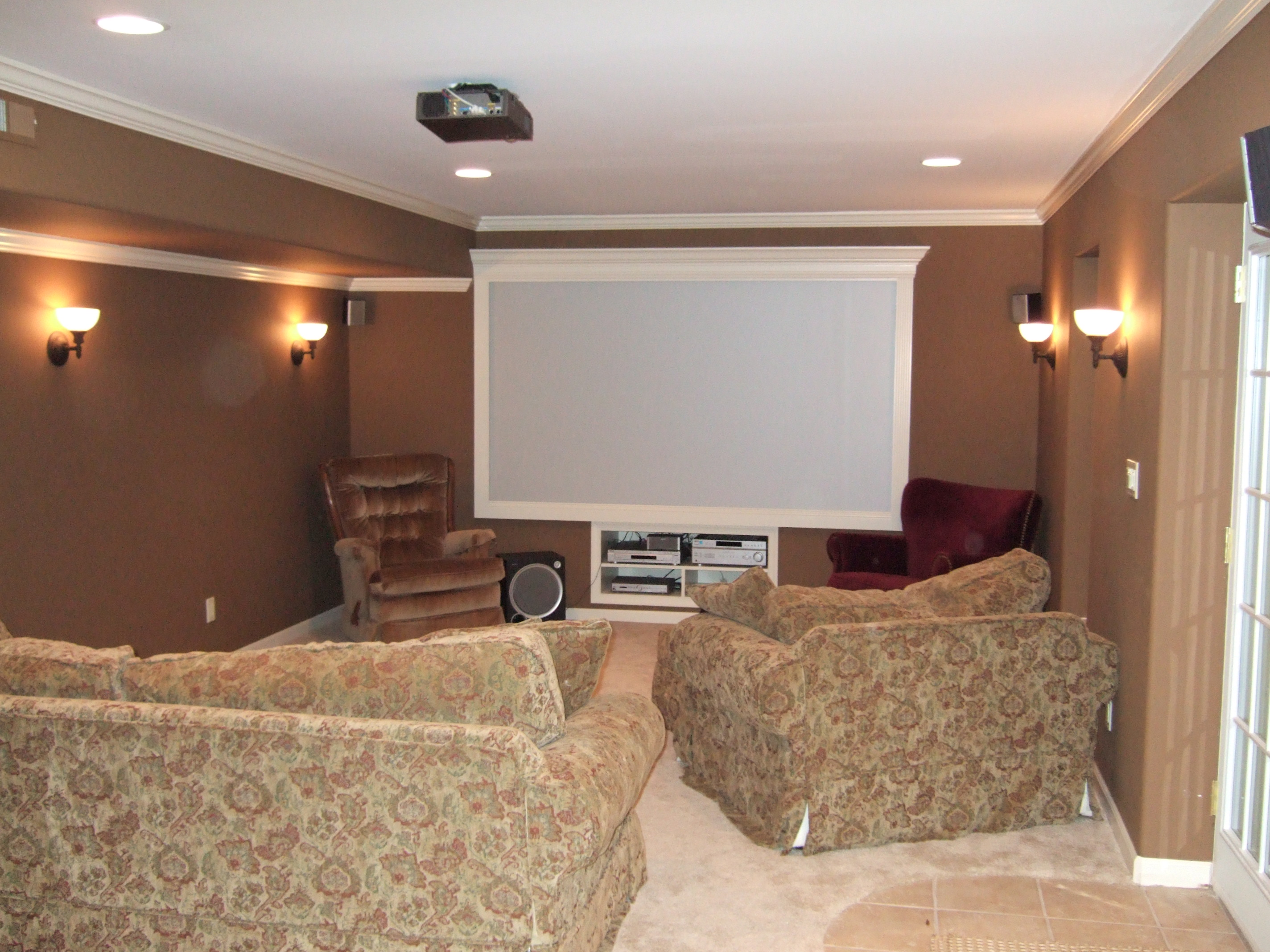 Basement Tv Ideas Finished Basement Remodeling Fairfax Manassas Pictures