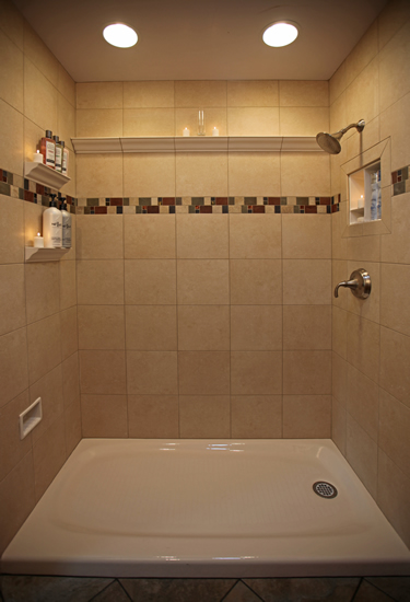 Decorative Tile Borders Bathroom Remodeling Diy Information Pictures Photos