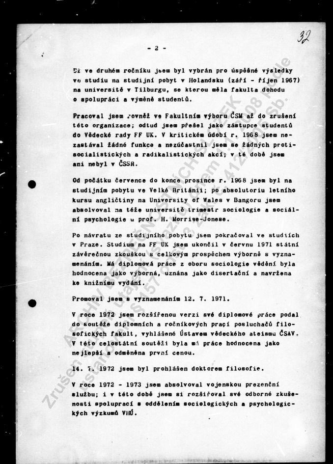 Životopis Halík 1975 (2)