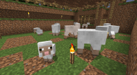 Minecraft Sheep Side View