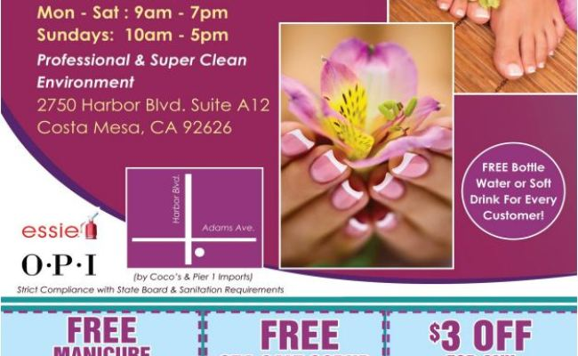 La Belle Nail Spa Grand Opening And 3 Free Gift Certificates Contest Dani S Decadent Deals