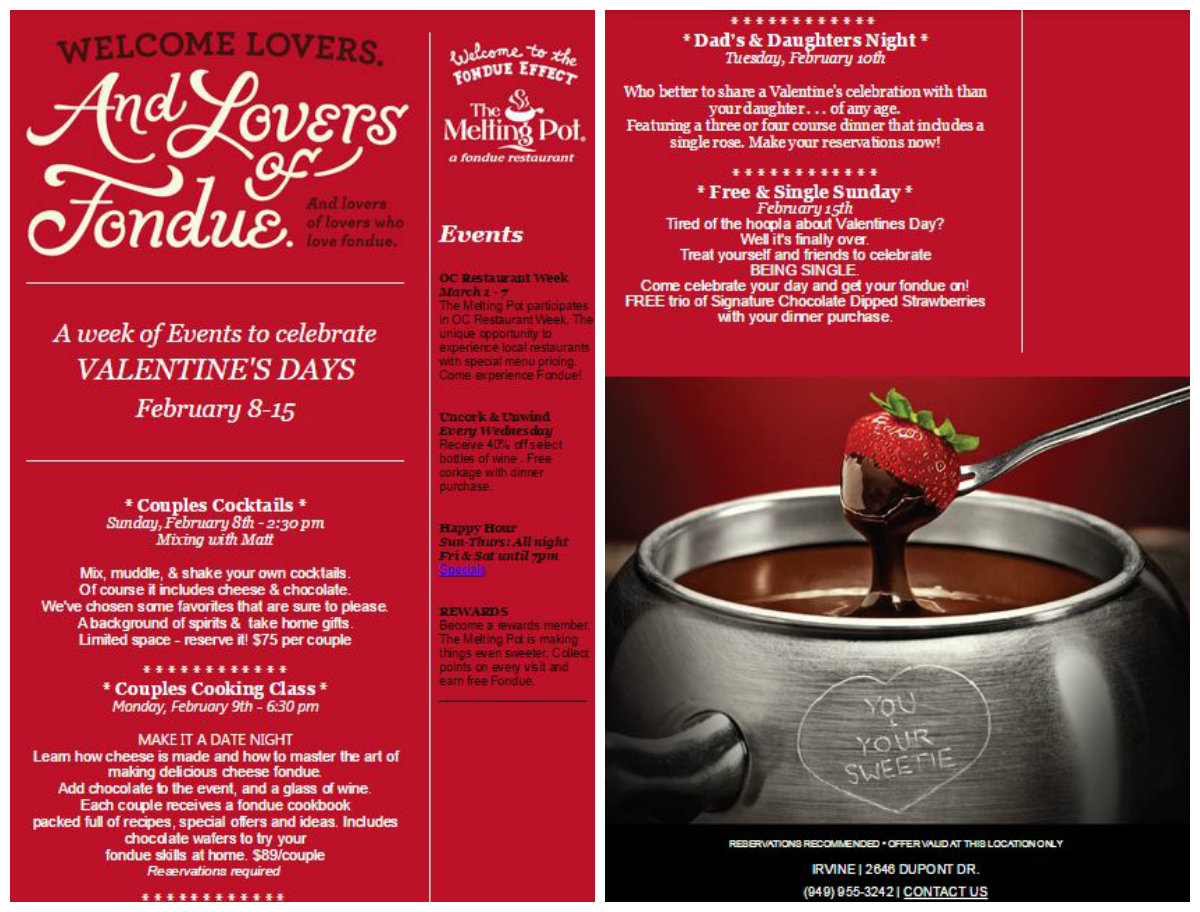 Cucina Di Pesce Prix Fixe Valentine S Day Prix Fixe Menus Gift Ideas And Other Goodies For