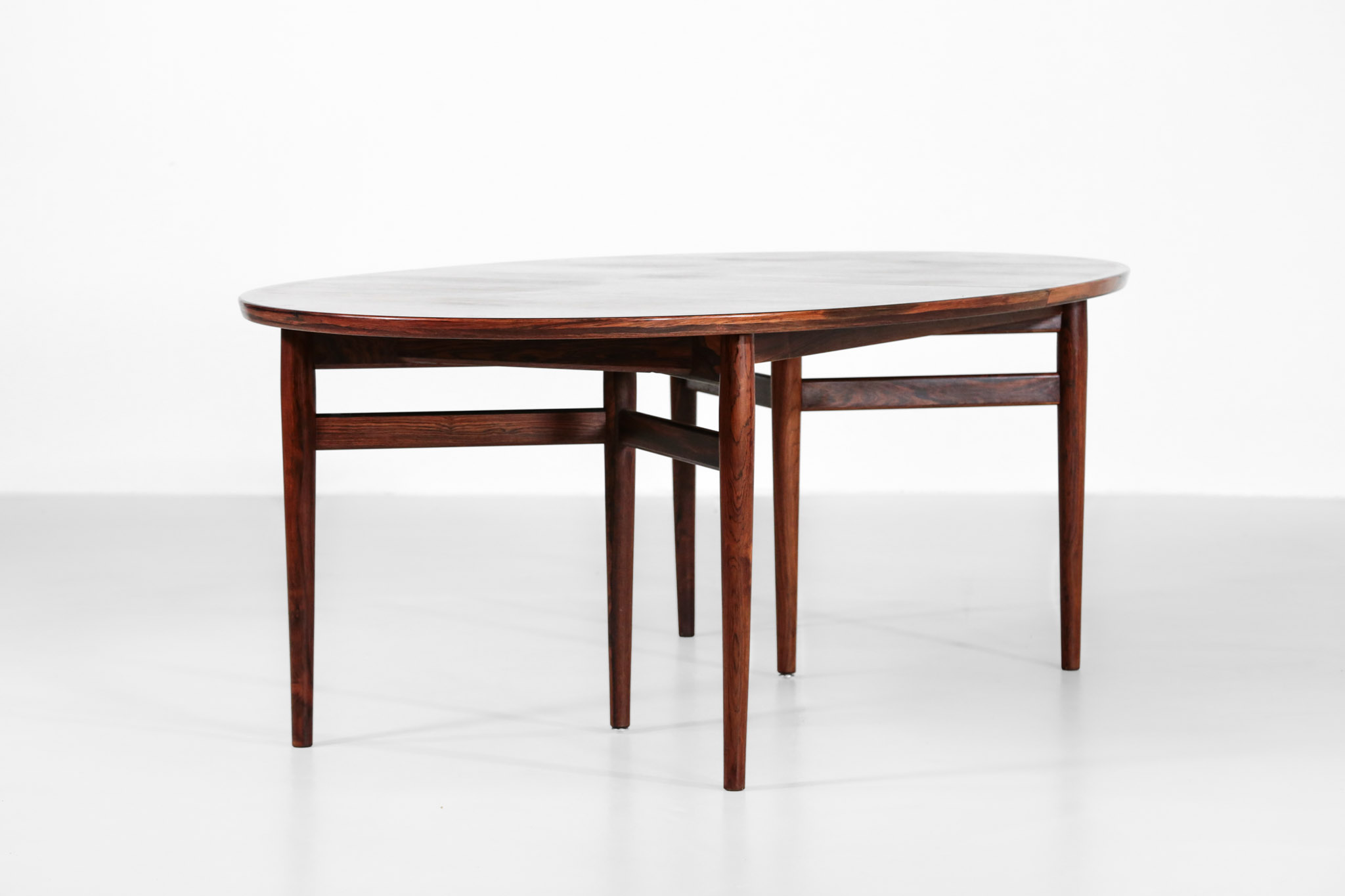 Grande Table Scandinave Large Arne Vodder Dining Table Model 212 In Rosewood Denmark