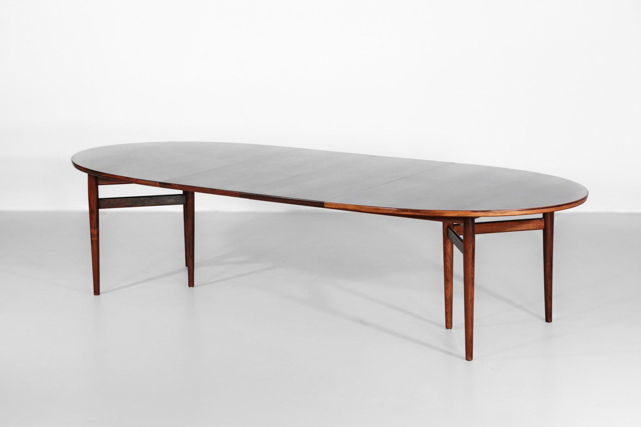 Table Manger Scandinave Large Arne Vodder Dining Table Model 212 In Rosewood Denmark
