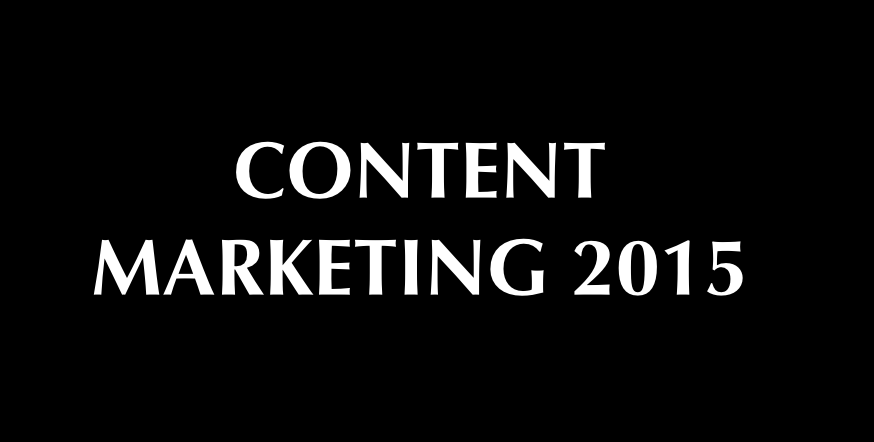 Content marketing 2015