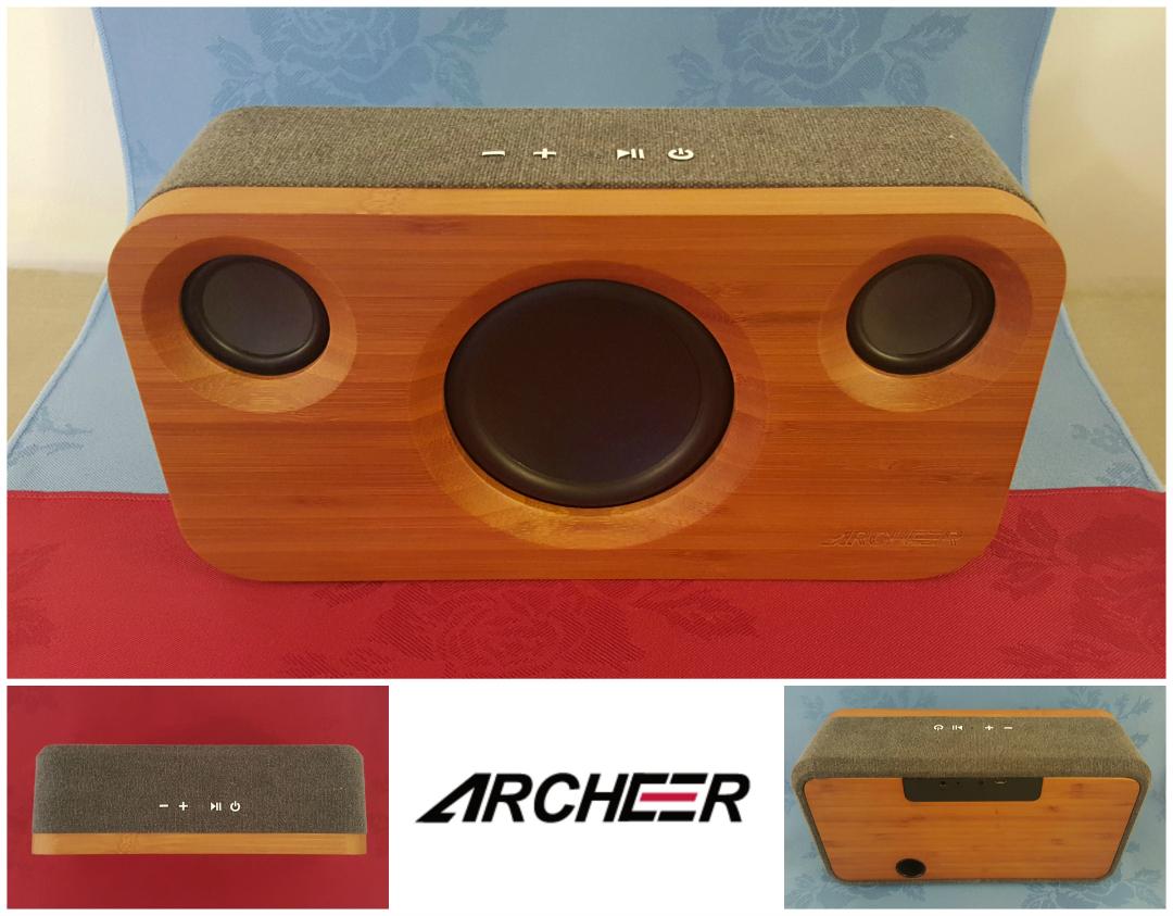 Archeer A320 Bamboo M10 speaker - Taken from a DannyUK.com review