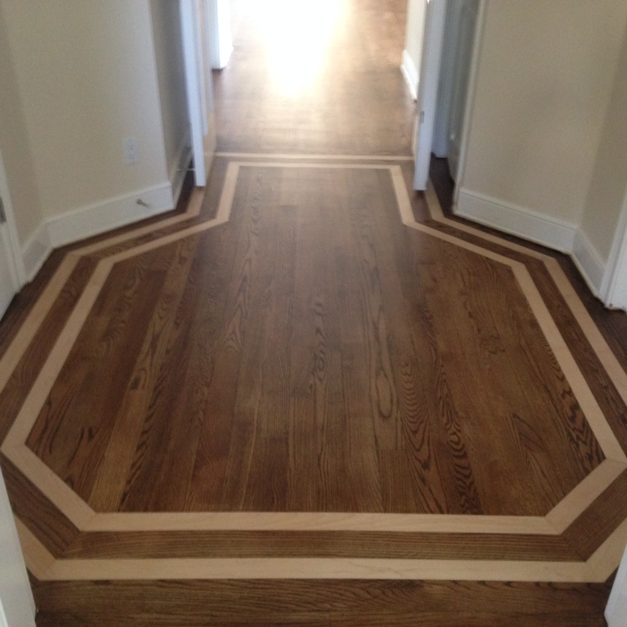 Wood Floor Repair Sand And Stain In Ponte Vedra Fl