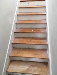 Wood Look Tile Stairs | Tile Design Ideas