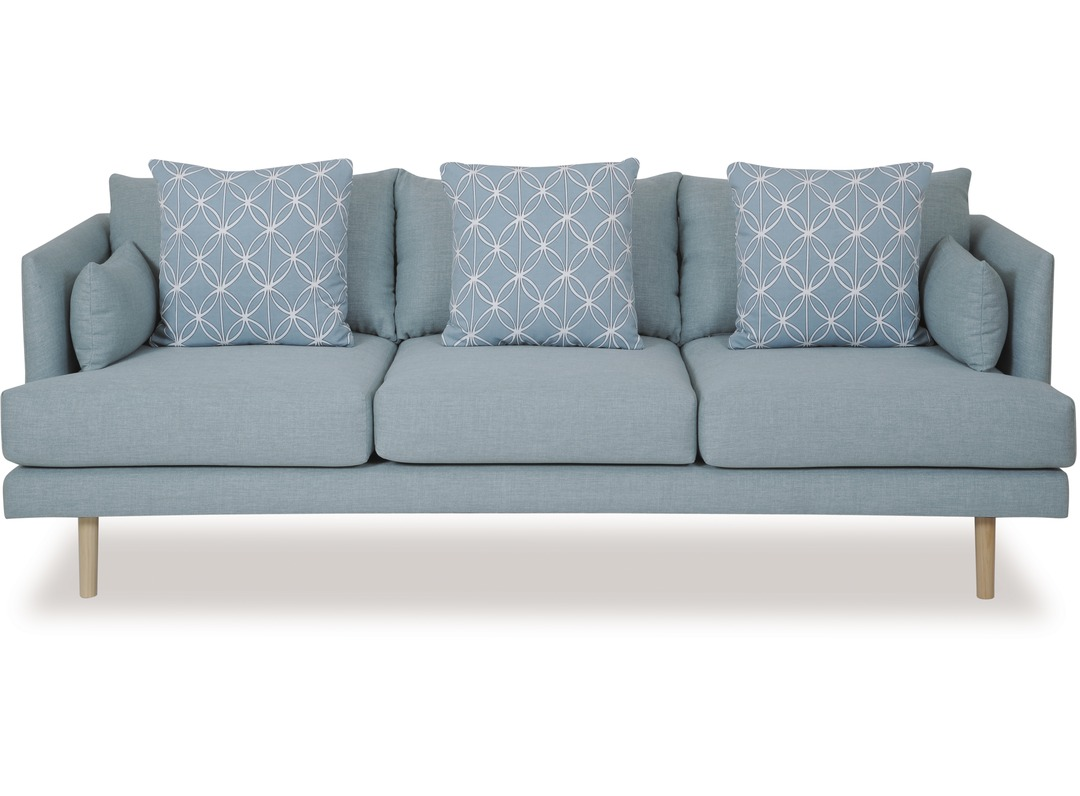 Grey Sofa Nz Nordic 3 Seater