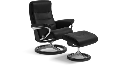 Stresslessr Nordic Leather Recliner Signature Base 3