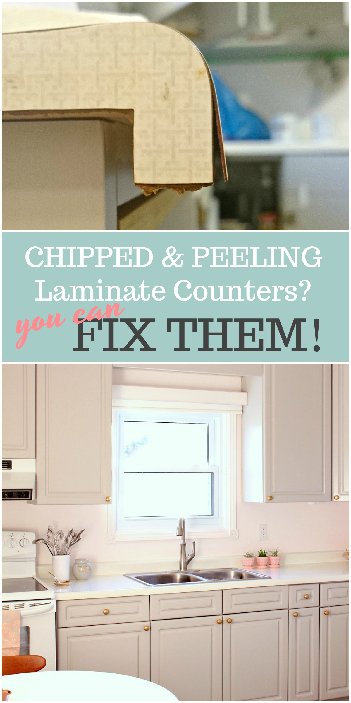 How To Fix Formica Countertops How To Repair And Refinish Laminate Counters Dans Le