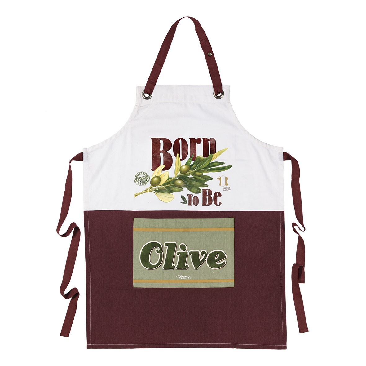 Tablier De Cuisine Original Tablier De Cuisine Born To Be Olive Natives Dans Tes Rêves