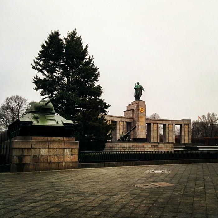 Monument to Soviet Soldier in Berlin
